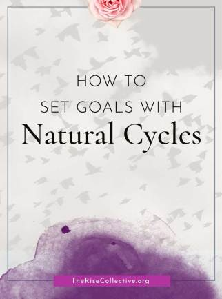 How to set goals with nature