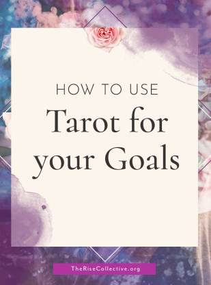 How to use tarot for goal setting
