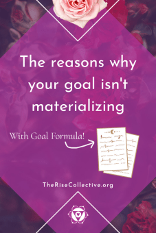 why your goal is not materializing when you're working with the law of attraction