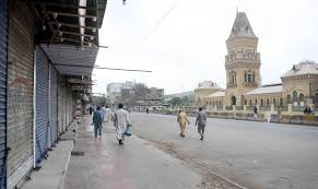 A lockdown due to coronavirus in Sindh for 15-day Photo: online