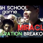 Many Healing Miracles at a High School Football Game