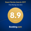 Rising Sun Inn Award - Booking.com 2017