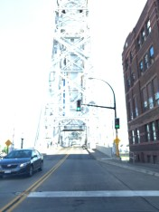 The lift bridge in Duluth.