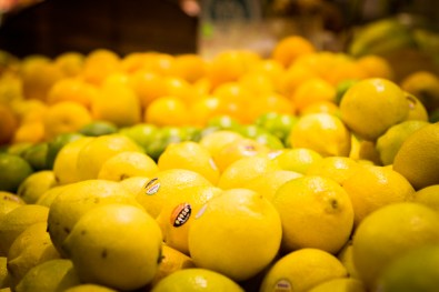 Lemons for the A-1 Pick-Me-Up Cocktail