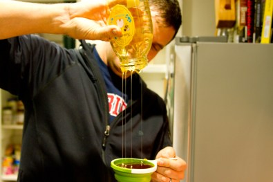 Acadian Mead: Measuring Honey