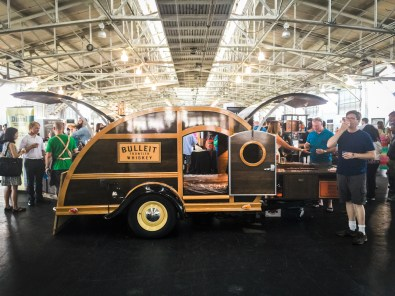 San Francisco Craft Spirits Carnival -- Bulleit's Woody Trailer