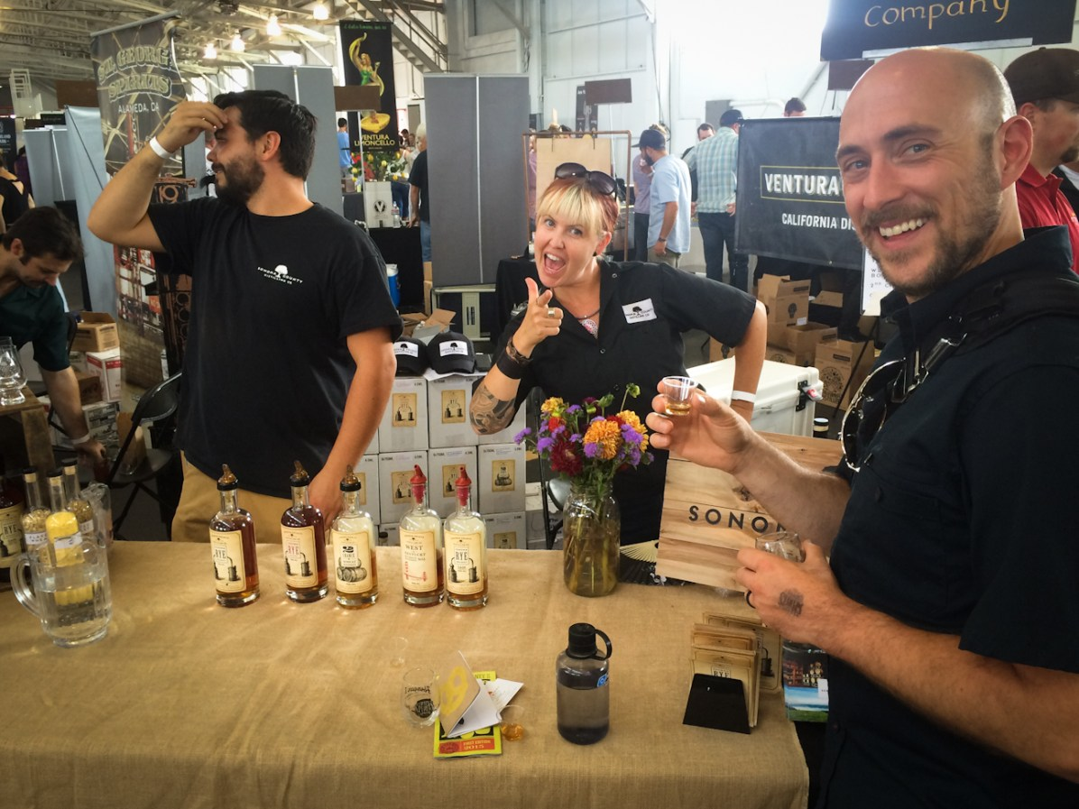 San Francisco Craft Spirits Carnival -- Erin Supple - Sonoma County Distilling Company
