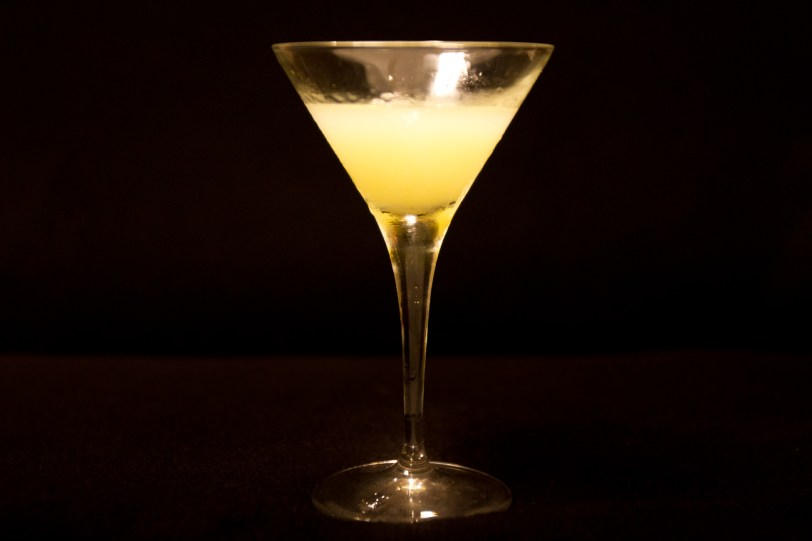 Absinthe American Cocktail, in a Studio Environment