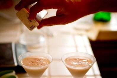 Ace Cocktail -- Nutmeg