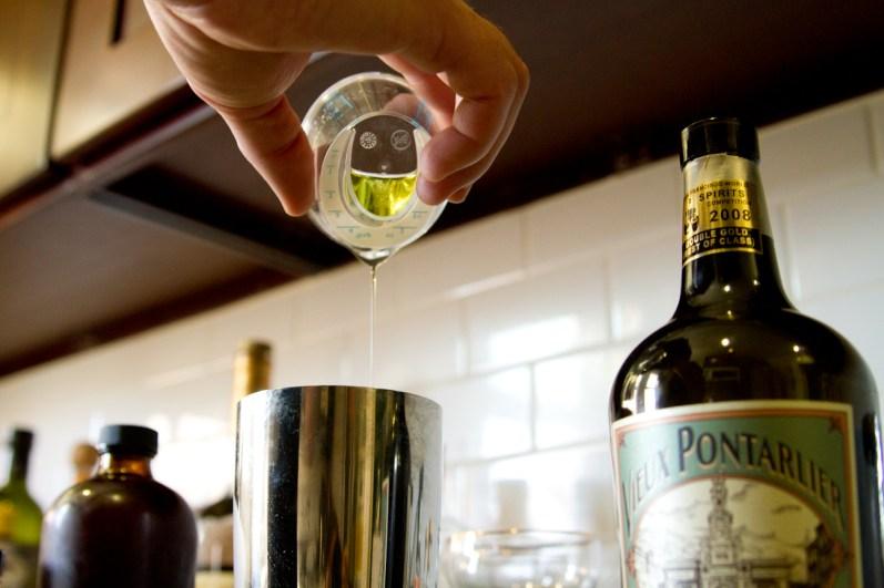Absinthe Cocktail -- Vieux Pontarlier