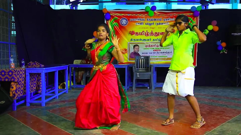 தமிழக கல்லூரி மாணவிகள் போட்ட செம டான்ஸ்