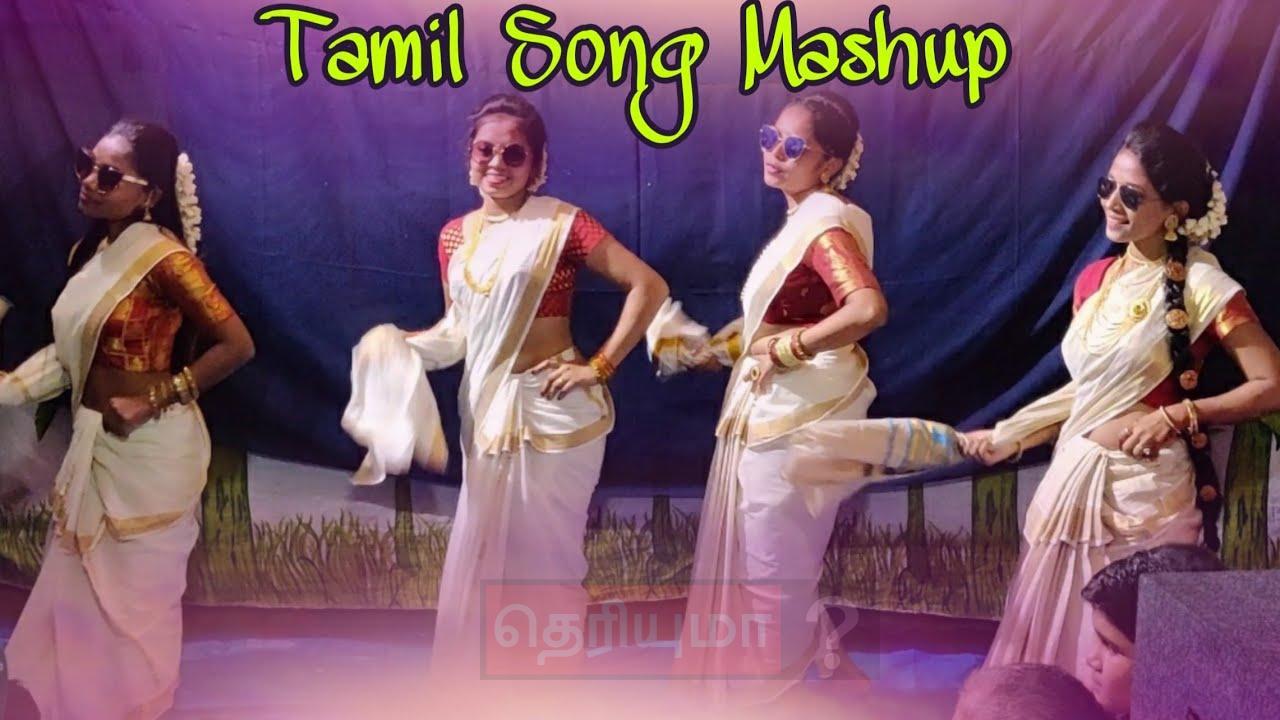 தமிழ் பாடலுக்கு ஹிந்தி பெண்கள் போட்ட செம டான்ஸ்