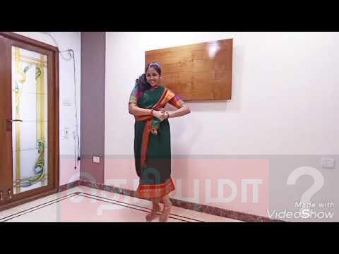 கண்டாங்கி சேலை தமிழ் இளம்பெண் போட்ட செம டான்ஸ்