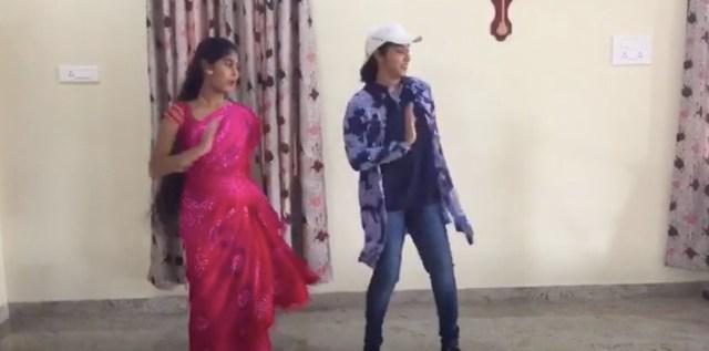 சினிமா பாடலுக்கு அம்மா பொண்ணு சேர்ந்து போட்ட செம டான்ஸ்