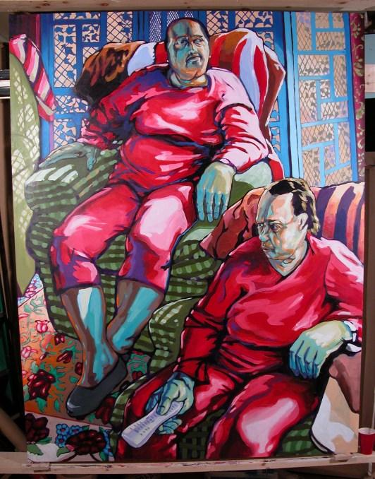 Bob Dilworth Painting, Elizabeth