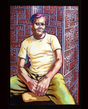 Penrose, painting by Bob Dilworth