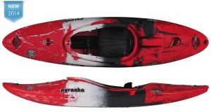 Burn III, Pyranha Kayak