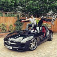 Fly High on black Mercedes Benz SLS by lordaleemof…
