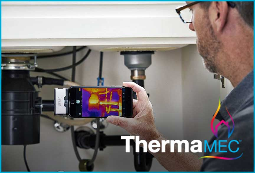 Thermal imaging software for buildings and the home
