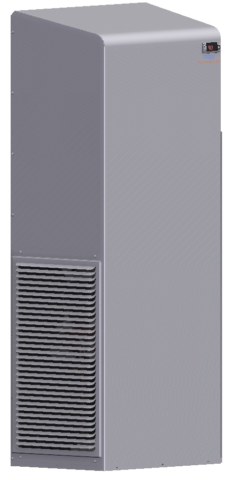 Enclosure Air Conditioner   HC201   UL Types 12, 4 & 4X on Outdoor Water Softener Enclosure  id=99832