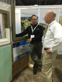 John Brooks explaining how ThermalBuck insulates the mounting points of windows and doors