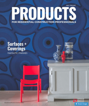 Products Magazine for Residential Construction Professionals