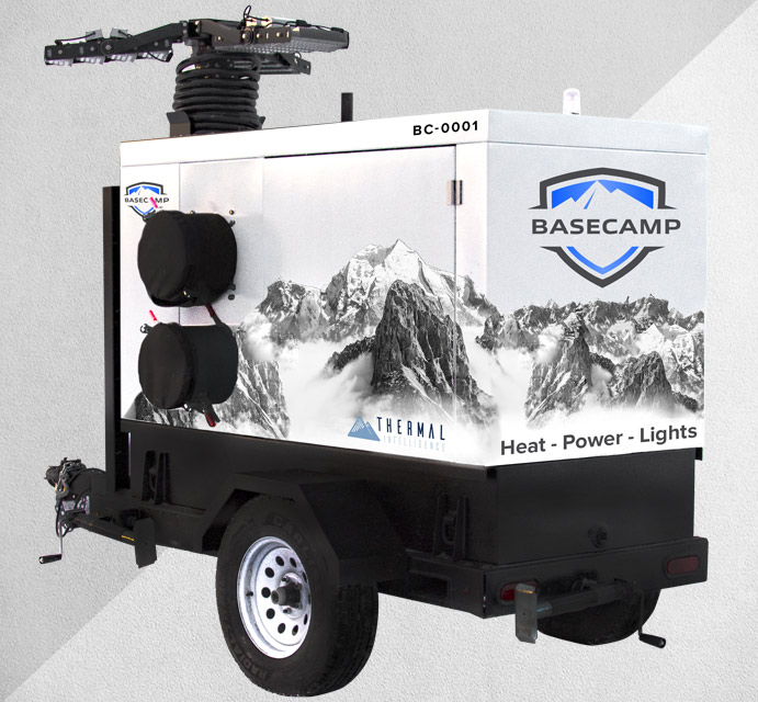 Basecamp - Ultra-efficient Breed of Flameless Heaters by Thermal Intelligence