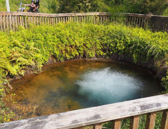Waitangi Soda Springs, New Zealand