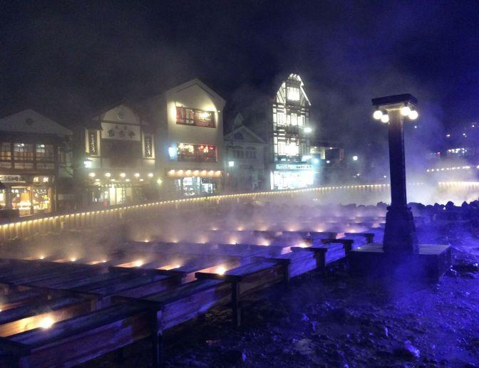 Kusatsu osen, Japan