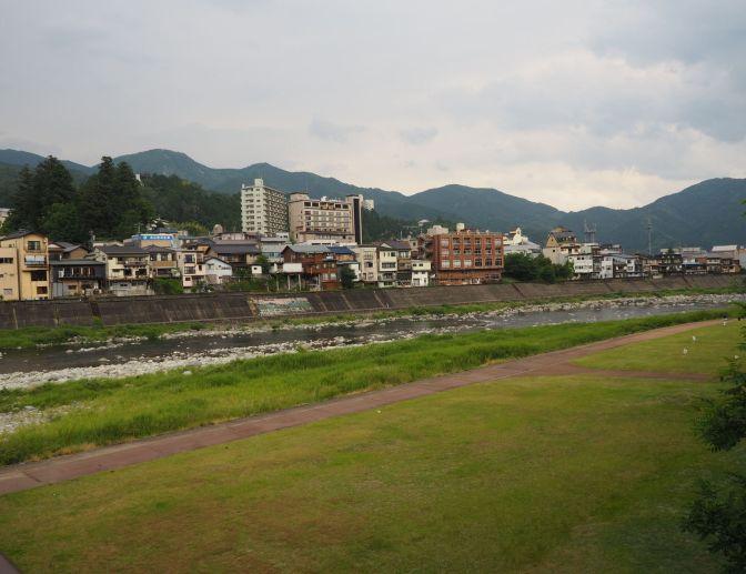 Gero onsen, Japan