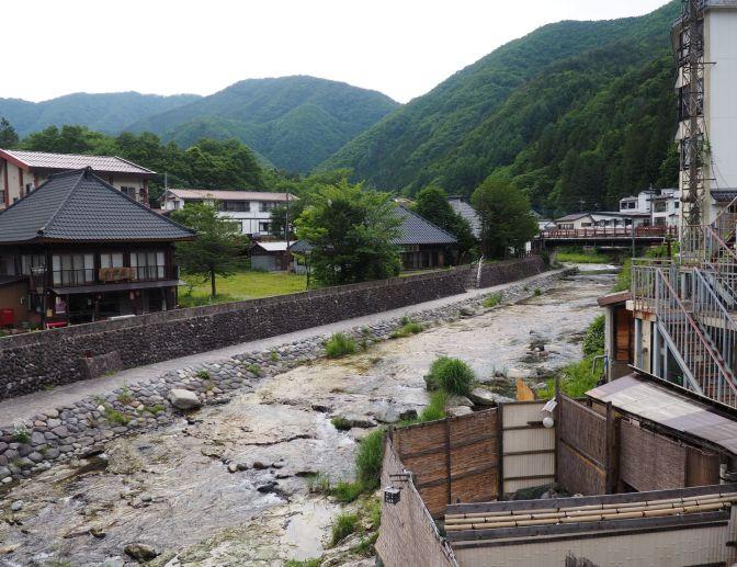 Yunishigawa onsen, Japan