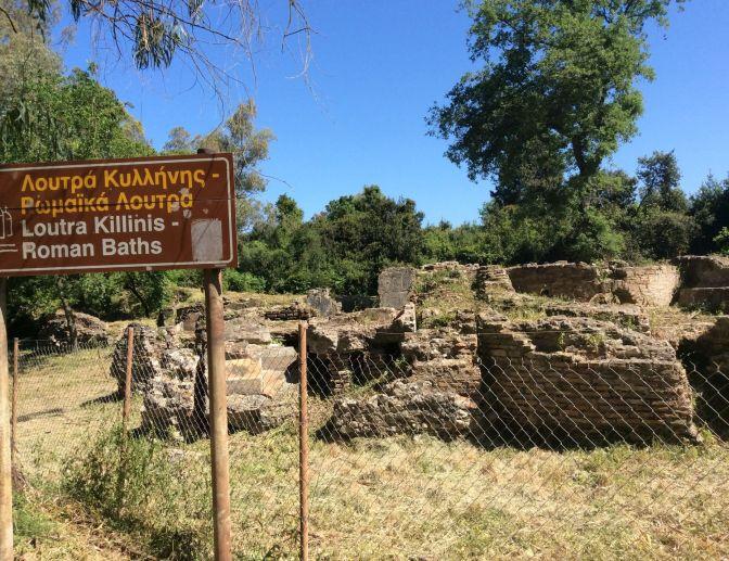 Roman Baths Killinis, Greece