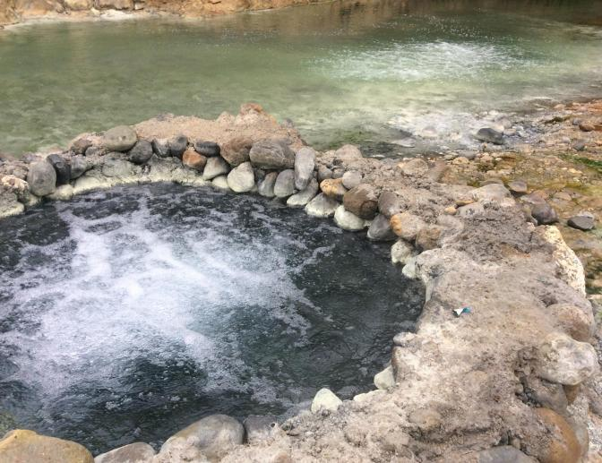 Bucalan hot spring, Negros, Philippines