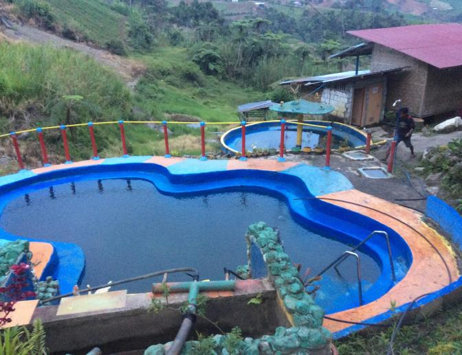 Mt. Apo Mainit hot spring resort, Mindanao, Philippines