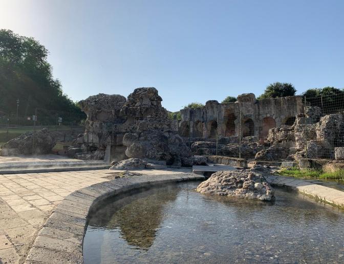 Fordongianus terme, Sardinia, Italy
