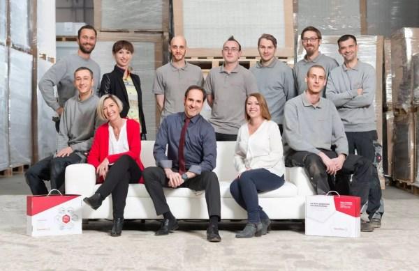 das ganze Team von ThermHex Waben GmbH