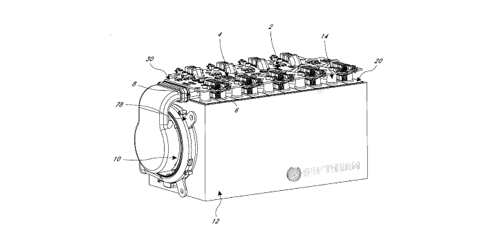A solid-state battery thermal management system for a hybrid vehicle