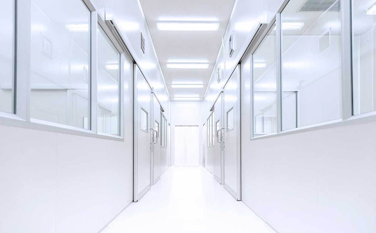cell manufacturing cleanrooms