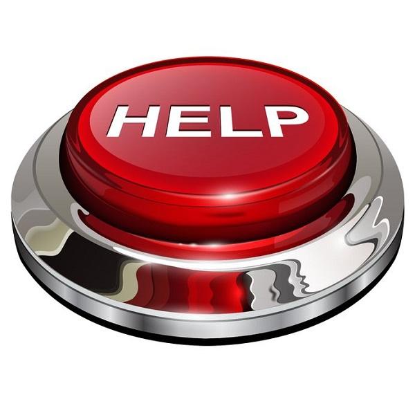 bouton help d'urgence