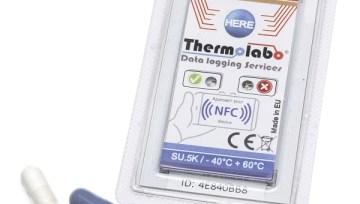 Full temperature traceability of pharmaceuticals in 7 seconds