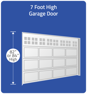 Choose 7 foot door