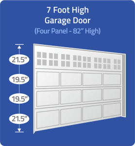 "Verify 82"" High Door"