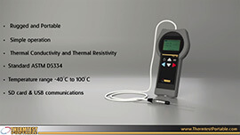 Thermal Conductivity Demo Video 50mm Needle