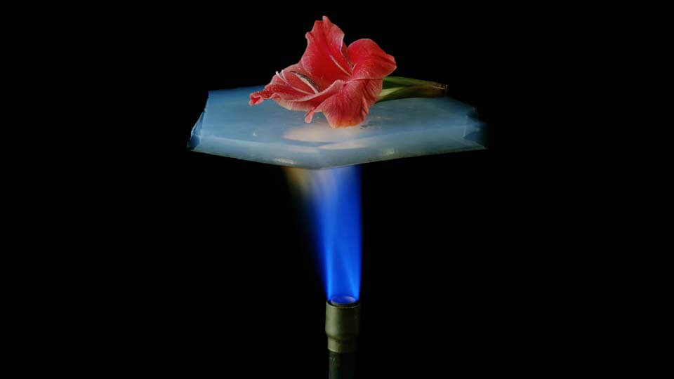 Low Thermal Conductivity of Aerogel