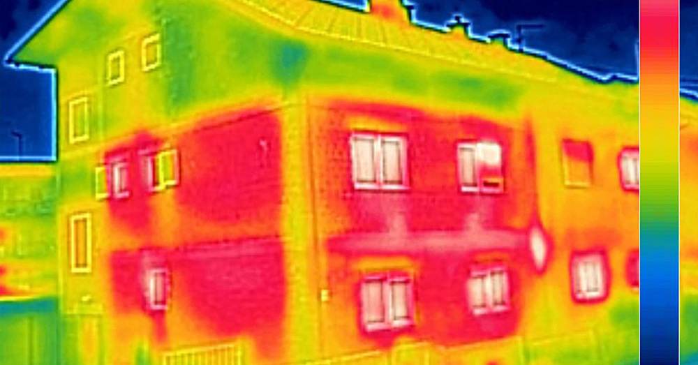 house with a lack of insulation in areas - thermtest inc.
