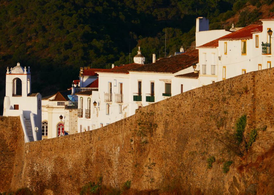 The lovely walled village of Mértola, Portugal