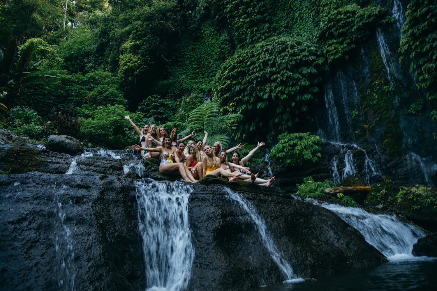 LimitLes in Bali Banyumala Twin Waterfalls