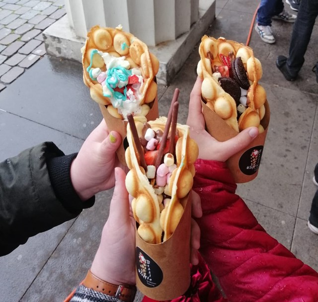 Bubble Waffle, Streetfood Festival 2019 Oldenburg
