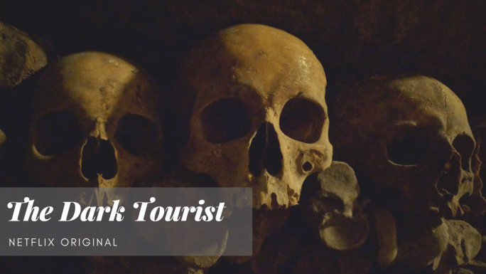 The Dark Tourist, Netflix Original, Totenköpfe