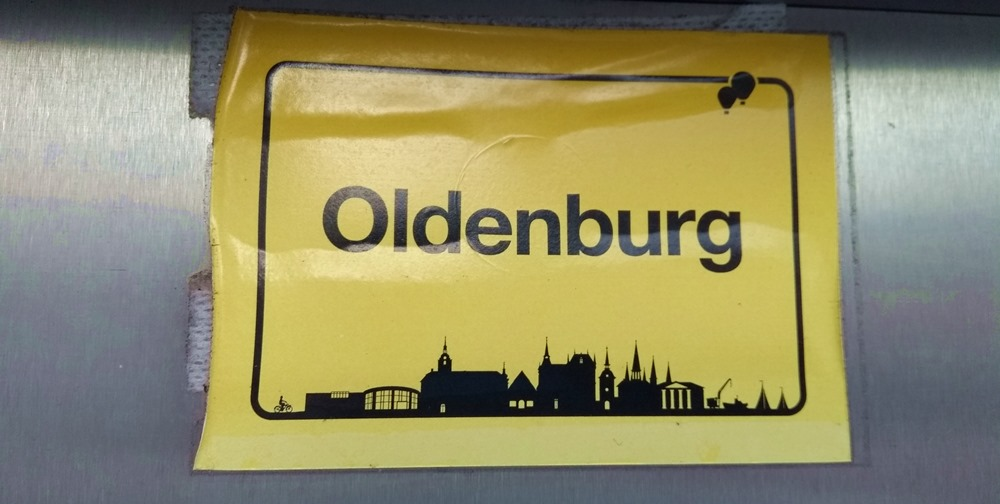 Sticker Oldenburger Ortsschild